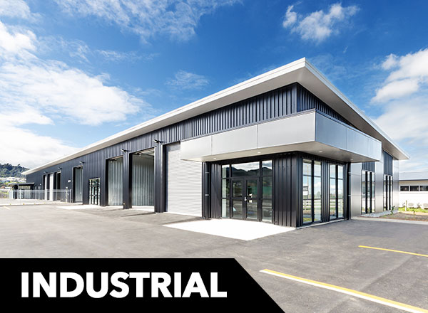 Industrial Building construction Waikato