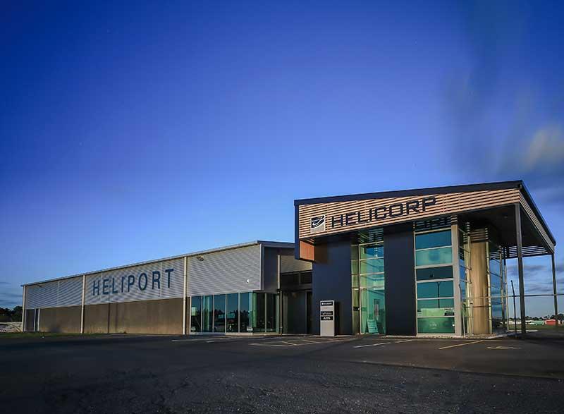 Heliport Hamilton Airport